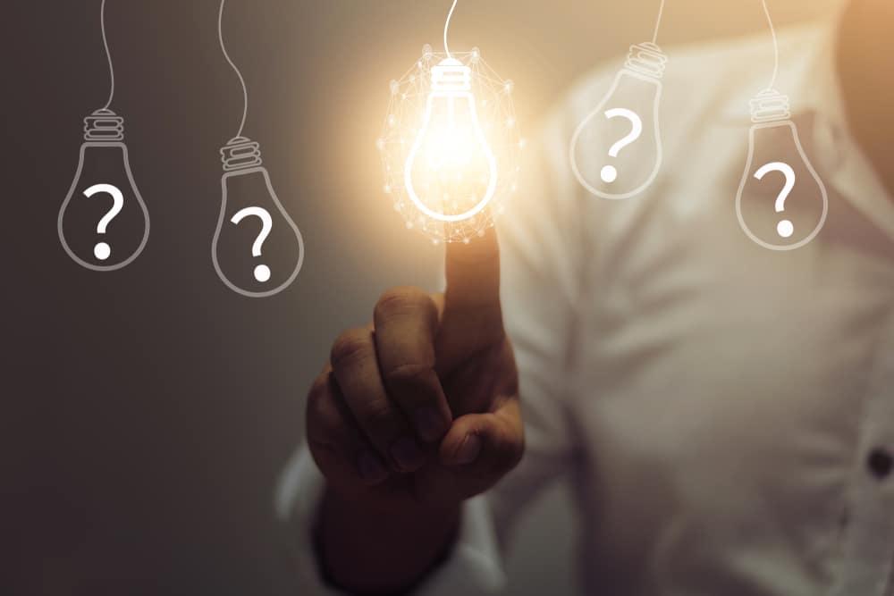 Iværksætter-spørgsmål